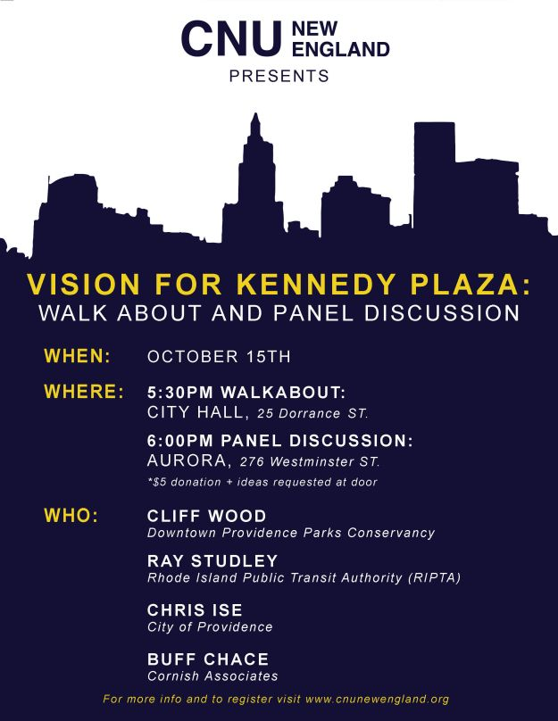 092214 Poster_PVD Kennedy Plaza