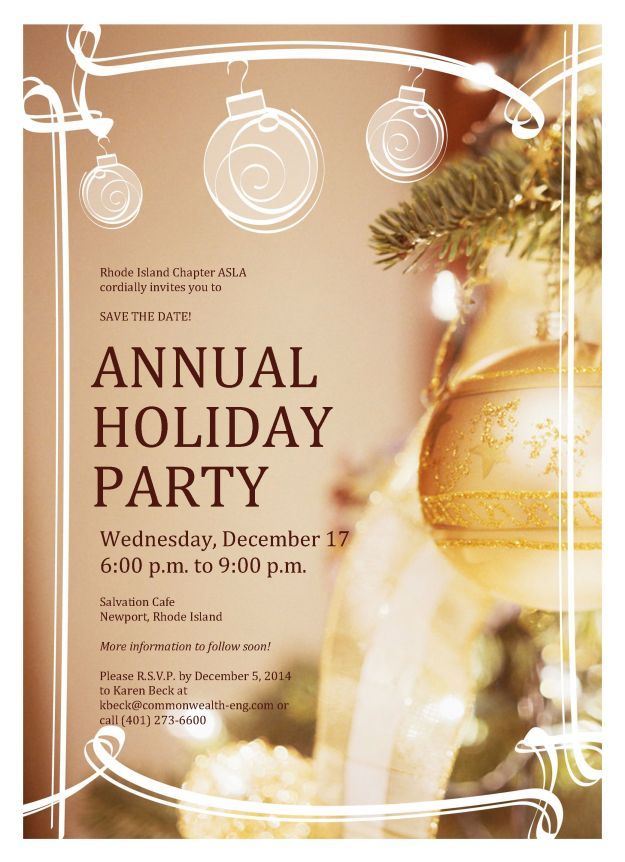 2014 Holiday party invitation-draft