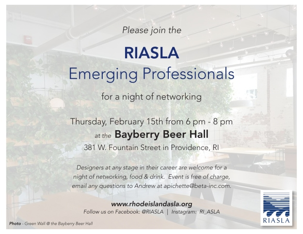 EP Networking Night February 15